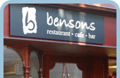 Bensons, Stratford upon Avon Cafe